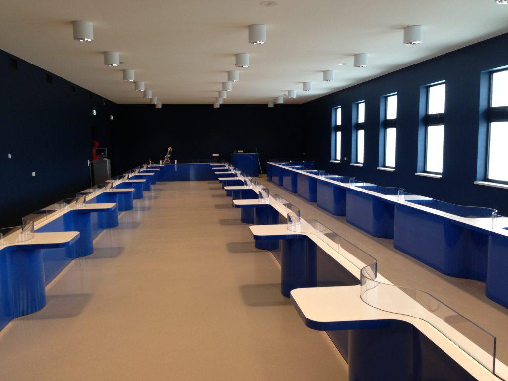 hoogvliet Uitbreiding bezoekerszalen t.b.v. DCA Alphen aan de Rijn.