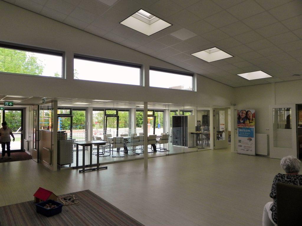 hoogvliet verbouw Kindcentrum Oranje-Nassau Papendrecht