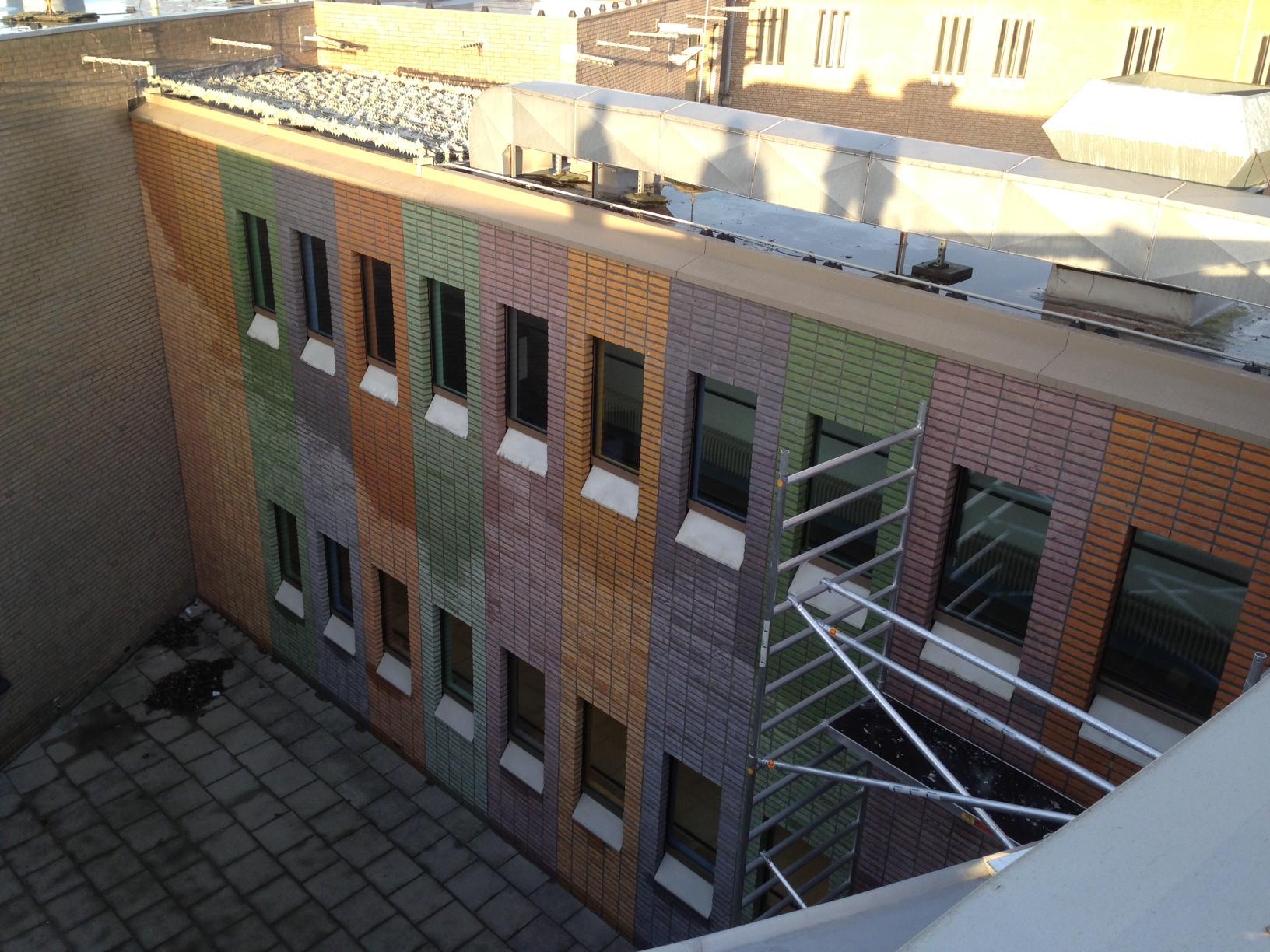 hoogvliet Nieuwbouw kantoor De Hartelborgt