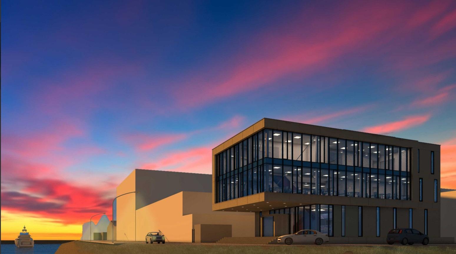 Nieuwbouw kantoor Papendrecht