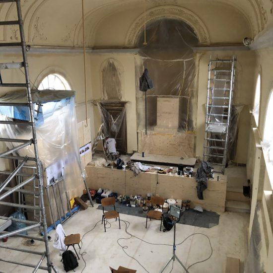 Restauratie Oud-Katholieke kerk Dordrecht