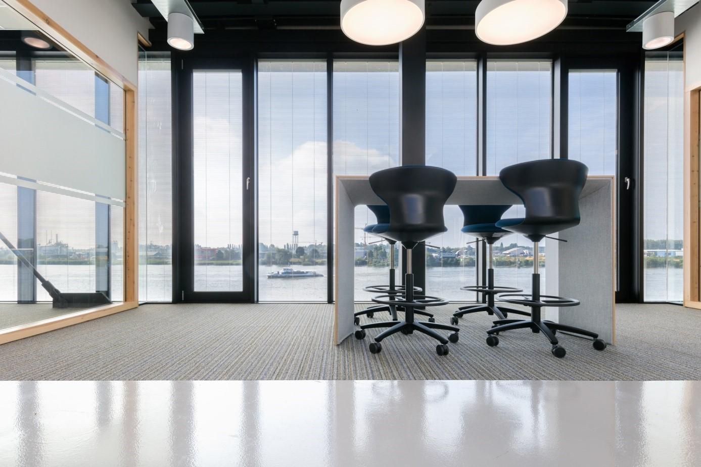 Hoogvliet Nieuwbouw kantoor Scheepswerf Slob