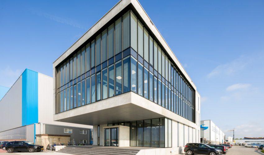 Nieuwbouw kantoor Scheepswerf Slob