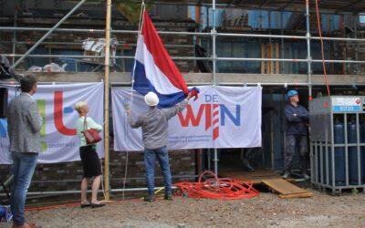 Hoogste punt nieuwbouw Kindcentrum De Twijn