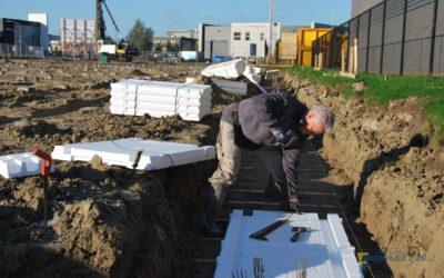 Bedrijfsunits Robijn: bouw in volle gang