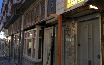Renovatie winkelpanden